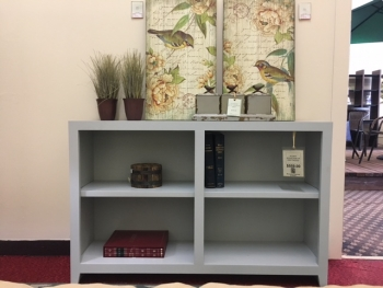 Bookcase in Driftwood