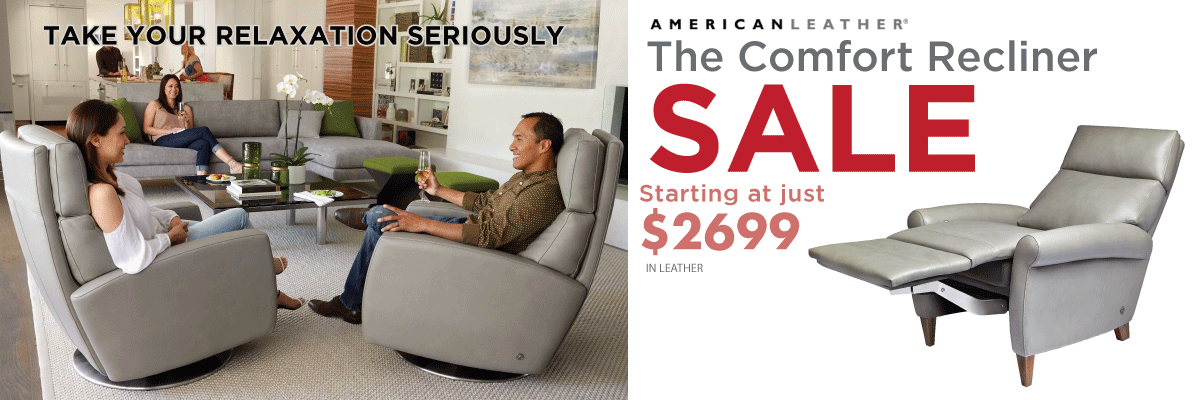 Permalink to: American Leather Comfort Recliner