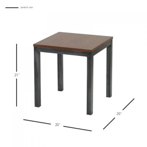 Octa End Table Dimensions