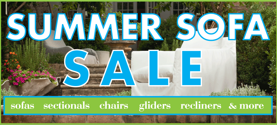 Summer Sofa Sale Slider