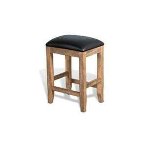 Puebla Counter Stool w/ Cushion Seat