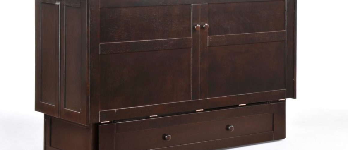 Clover Queen Murphy Bed Console