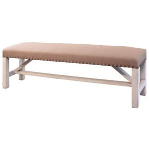 Terra White Breakfast & Bedroom Bench