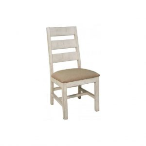 Terra White Chair w/ Ladder Back