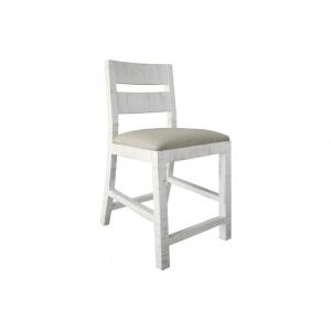 "Pueblo White 24"" Counter Stool"