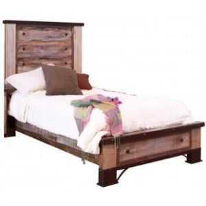 Antique Multicolor Bed