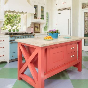 coral kitchen