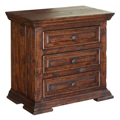 Terra Brown Nightstand