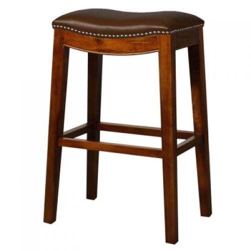 Elmo Bar Stool- Brown