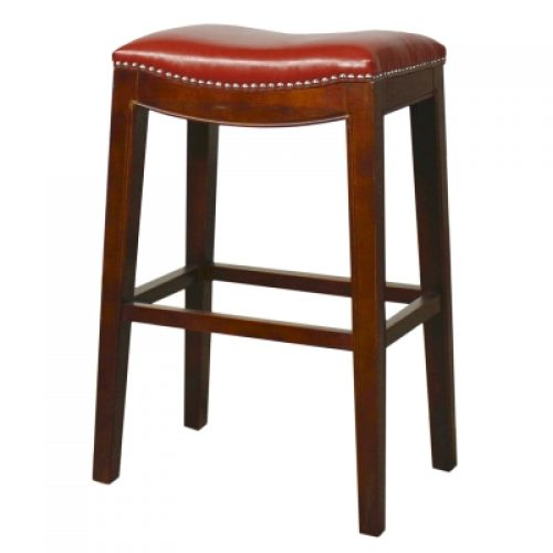 Elmo Bar Stool-Red