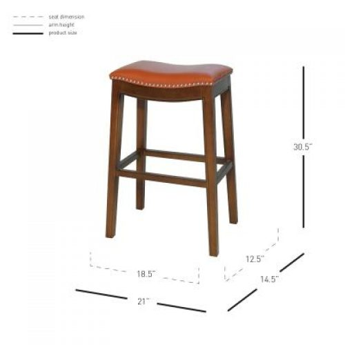 Elmo Bar Stool dimensions