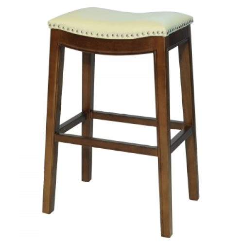 Elmo Bar Stool-ivory