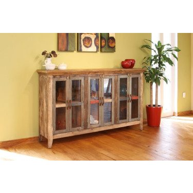 Antique Multicolor with 6 doors for Storage