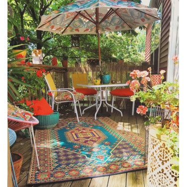 Colorful Design Patio