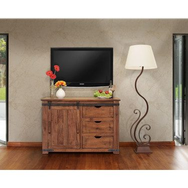Parota TV Stand for Media Storage 1