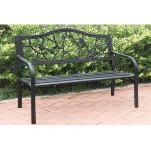 Cedar Rose Outdoor Bench