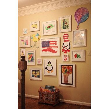 Framed Kid Art