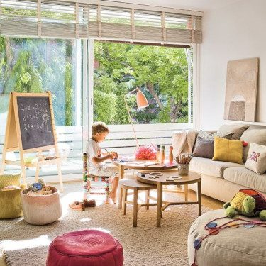 Kid & Adult Friendly Family Rooms