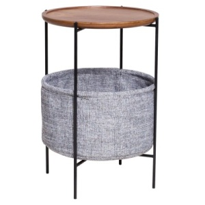 Olson End Table with Storage