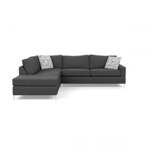 Amos Sectional Entice Graphite