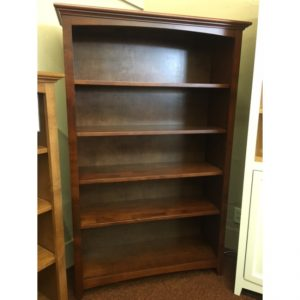 McKenzie Bookcase in Glazed Antique Cherry Finish