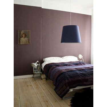 Brown Purple Bedroom