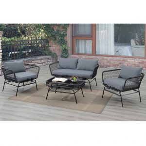 Lazear 4-Pcs Outdoor Set
