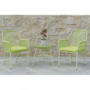 Maxwell 3-Pcs Outdoor Set in Green