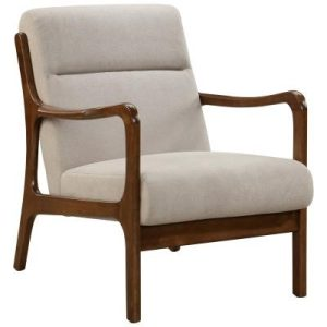 Anton Armchair in Tan
