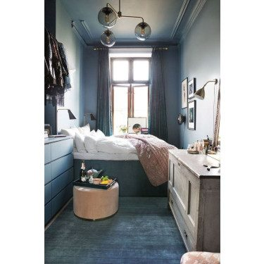 Blue in Small Space