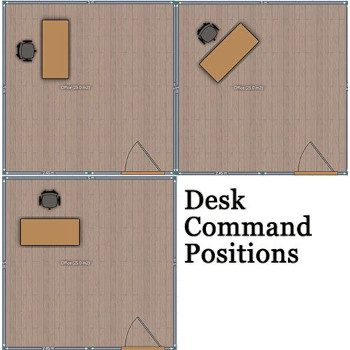 Command Position Small Space