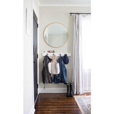 mirror small entryway