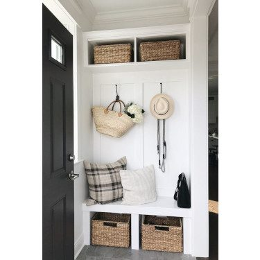 small entryway minimum space