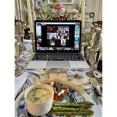Virtual Dinner Party