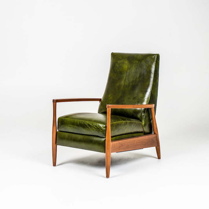 Re-Invented Recliner - Aston Mont Blanc Evergreen