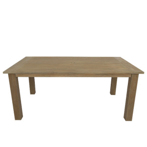 "Outdoor Coastal Teak 72"" Dining Table"