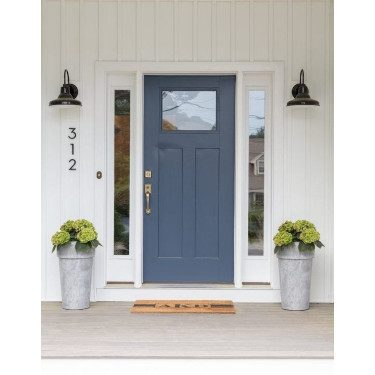 Blue Door farmhouse