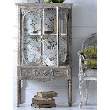 Spring Decor Wallpaper Dresser