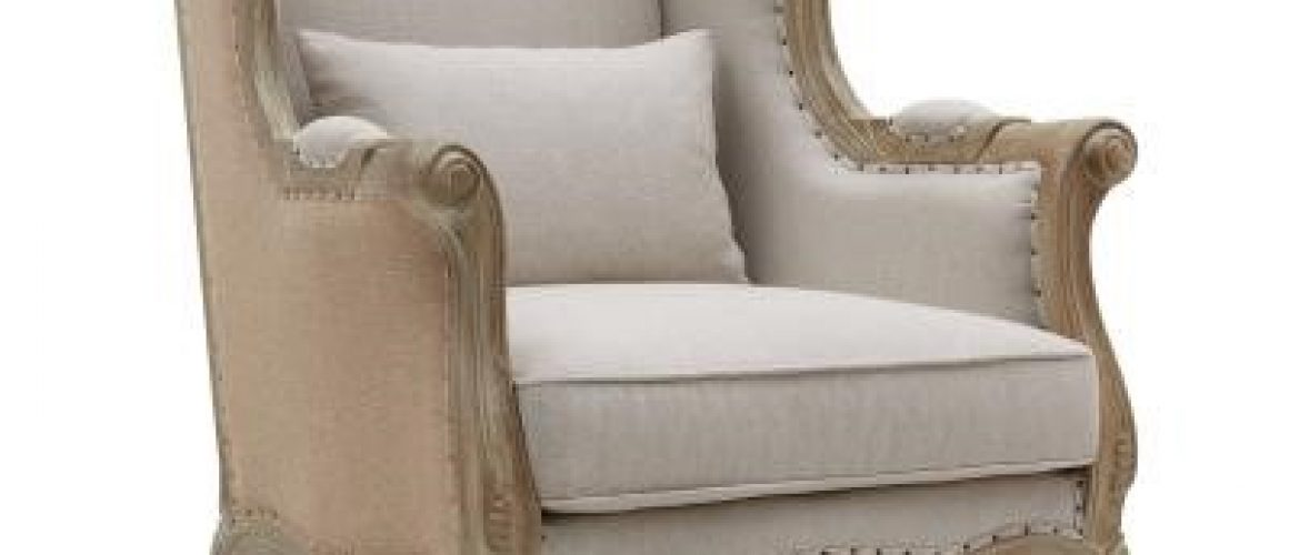 Guinevere Wing Accent Chair