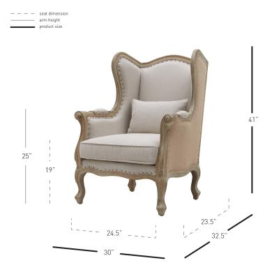 Guinevere Chair Dimensions