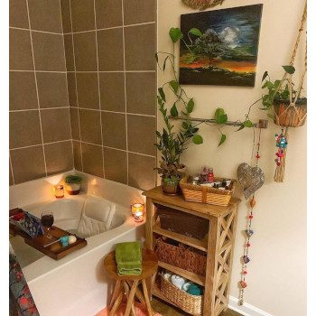 Scented Candles Spa Like Bathroom