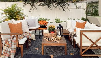 fall outdoor furniture