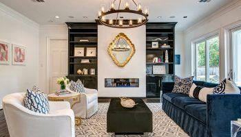 living room focal point